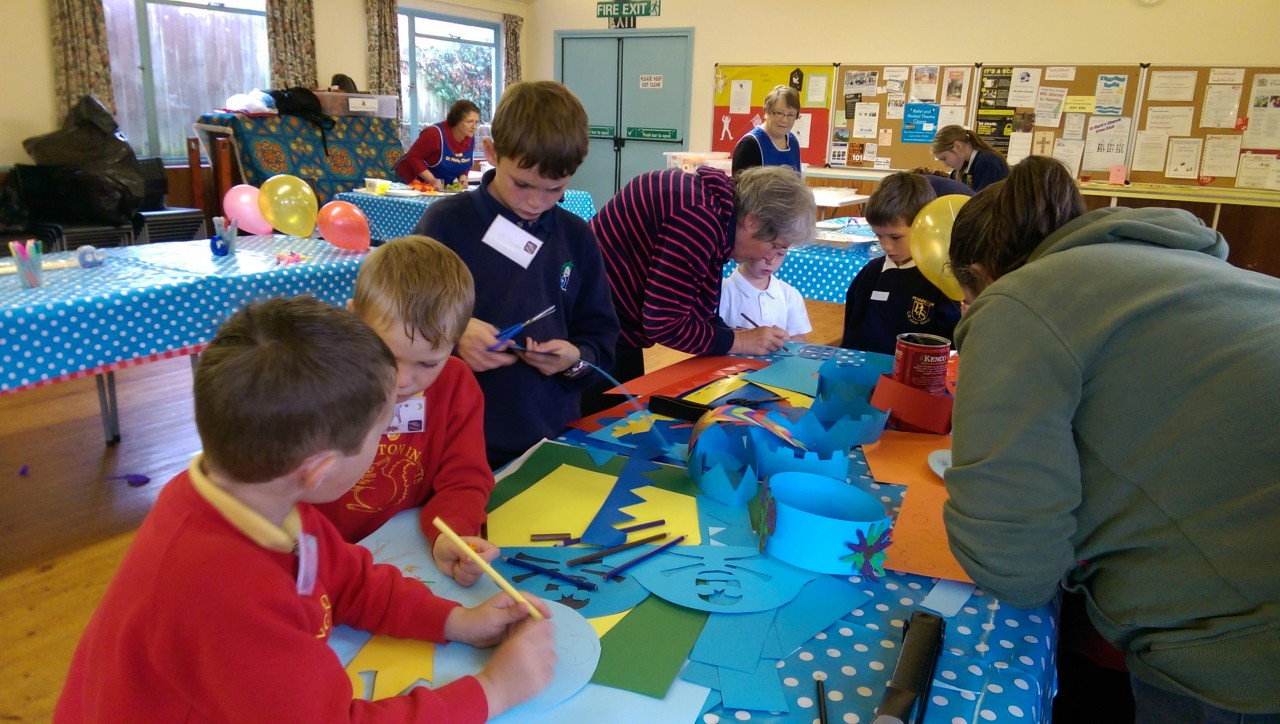 Messy Church Attendees