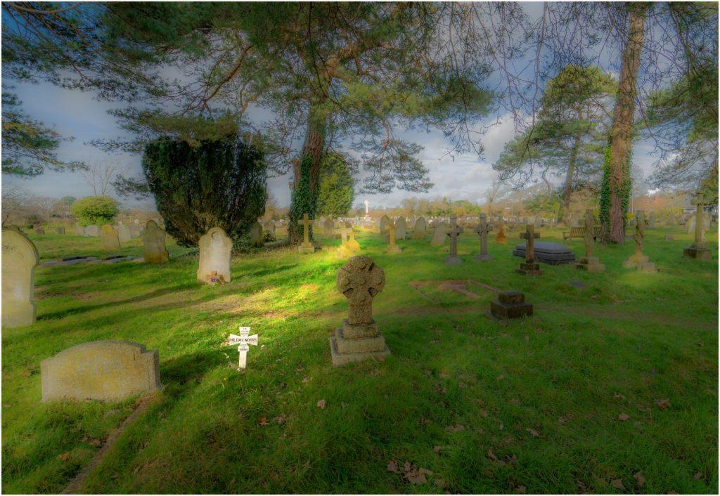 Churchyard HDR