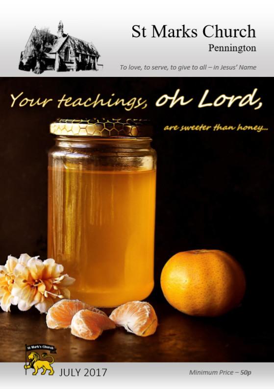 201707 Parish Magazine Cover