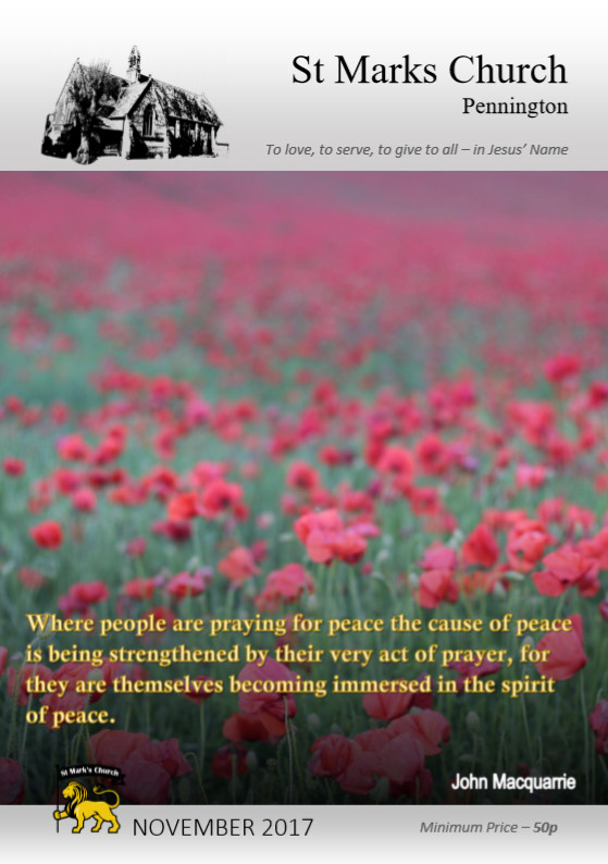 201711 Parish Magazine Cover