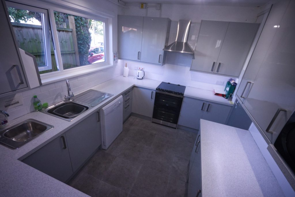 St Mark's Community Hall - Our kitchen, with two sinks, dishwasher, double oven and microwave