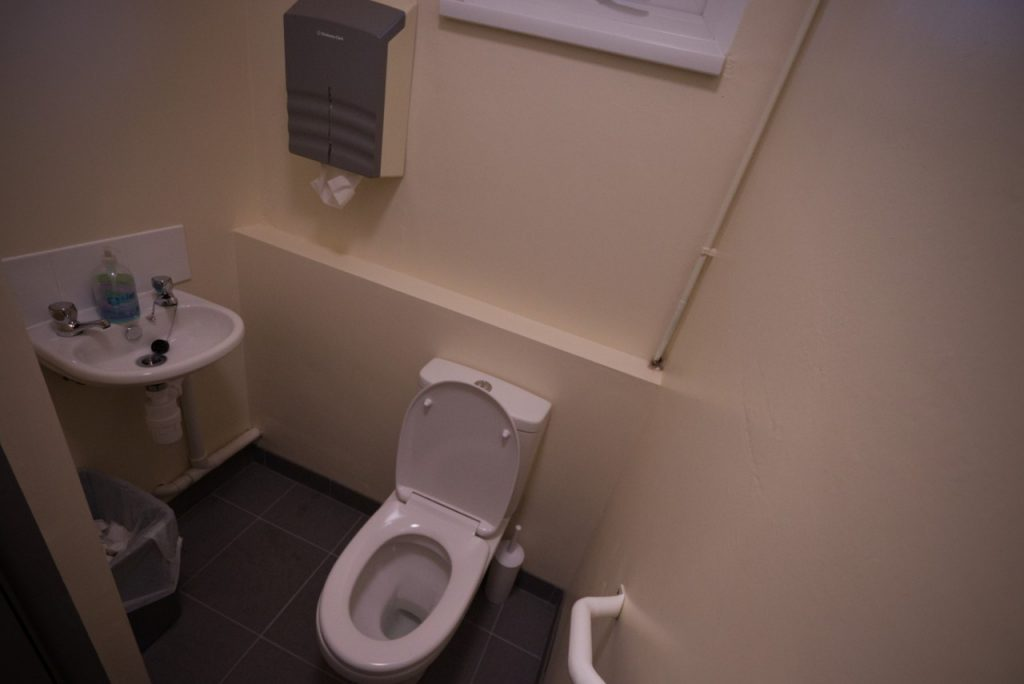 St Mark's Community Hall - One of two unisex toilets