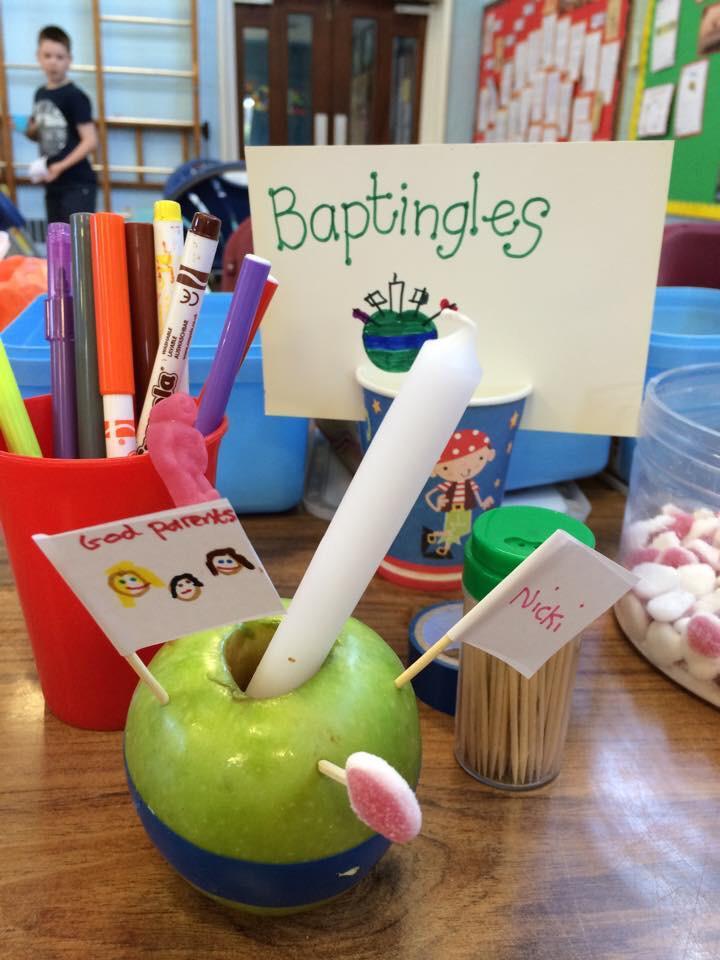 Baptingle apple