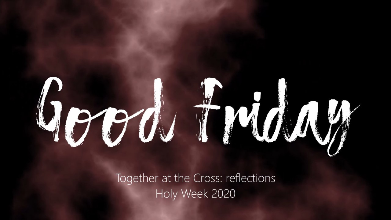 Good Friday 2020 Banner