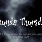 Maundy Thursday banner, 2020