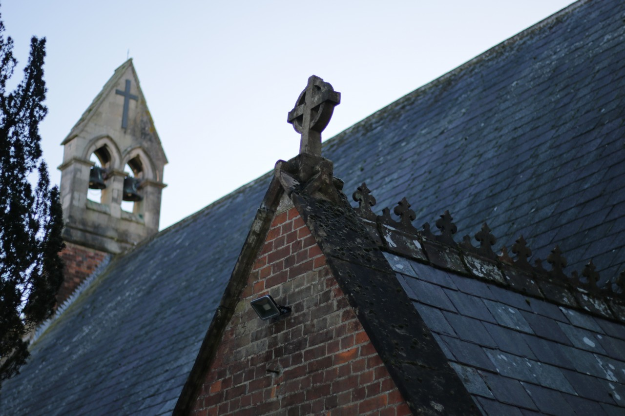 Bells on roof of St Mark's