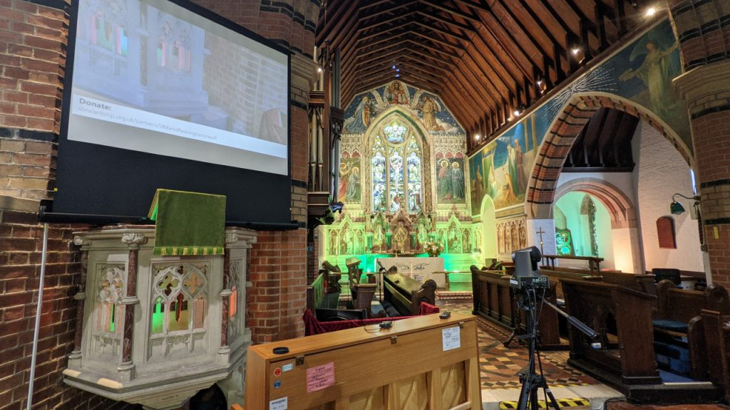 Tech in use at St Marks
